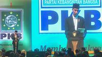 Presiden Jokowi di acara harlah PKB di Jakarta.