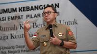 Dihadapan ratusan mahasiswa Fakultas Ushuludin dan Pemikiran Islam Universitas Islam Negeri (UIN) Sunan Kalijaga Yogyakarta,