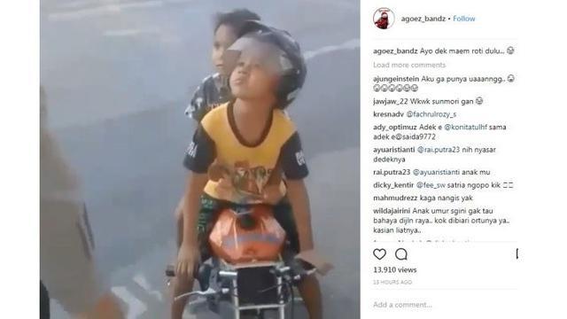Anak Tk Dihentikan Polisi