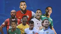 Liga 1 - Para Pemain BRI Liga 1 (Bola.com/Adreanus Titus)