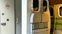Toilet Pesawat Terbang. (dok.Instagram @aviationart_indonesia/https://www.instagram.com/p/B7z1zKdh861/Henry)