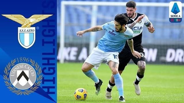 Berita video gol-gol yang dicetak Udinese saat mengalahkan Lazio 3-1 pada pekan ke-9 Liga Italia 2020/2021. Tampak juga Pelatih tim tuan rumah, Simone Inzaghi, kesal karena kebobolan.
