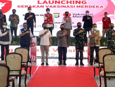 Bersama Polda Metro Jaya, Gojek Dukung Gerakan Vaksinasi Merdeka