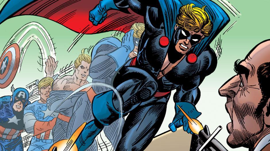 Nomad, identitas lain Steve Rogers alias Captain America. (Marvel)