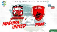 Liga 1 2018 Madura United Vs PSM Makassar (Bola.com/Adreanus Titus)
