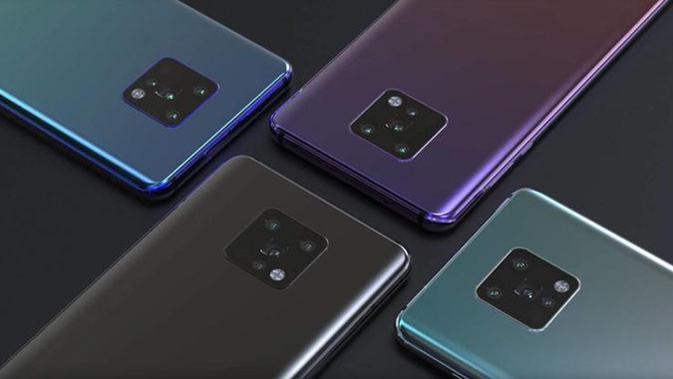 Bocoran bodi Huawei Mate 30 Pro. (Doc: Gizchina)