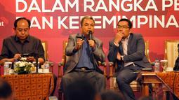 Pertemuan yang dihadiri ratusan bupati dan walikota ini secara khusus menegaskan penolakan mekanisme Pilkada melalui DPRD, Jakarta, (11/9/14). (Liputan6.com/Panji Diksana)
