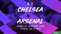 Premier League - Chelsea Vs Arsenal (Bola.com/Adreanus Titus)