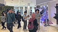 Instalasi seni terinspirasi dari film Maleficent di North Space, Senayan City, Jakarta Pusat, 10 Oktober--3 November 2019. (Liputan6.com/Asnida Riani)
