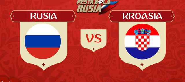 Berita video head-to-head Piala Dunia Rusia 2018: Rusia vs Kroasia.