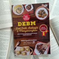 Buku DEBM (Diet Enak, Bahagia, dan Menyenangkan)./Copyright Endah
