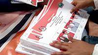 Surat suara untuk Pilkada Kota Malang, Jawa Timur (Liputan6.com/Zainul Arifin)