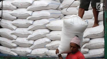 Harga Beras di Pasar Induk Cipinang