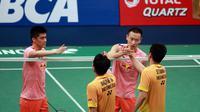 Ganda putra Indonesia Hendra Setiawan/Mohammad Ahsan gagal lolos ke final BCA Indonesia Open Superseries Premier 2015 ( ImageDynamics)