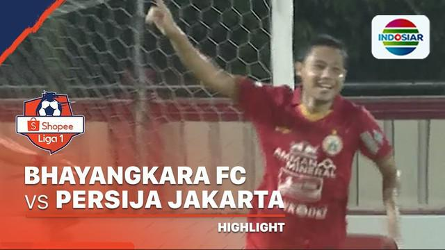 Berita Video Highlights Shopee Liga 1 2020, Bhayangkara FC Vs Persija Jakarta 2-2