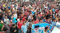 Demonstrasi mahasiswa beberapa waktu lalu. (Liputan6.com/M Syukur)