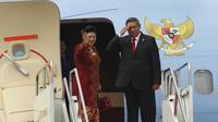 Presiden SBY dan Ibu Negara Ani Yudhoyono. (setkab.go.id)