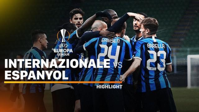 Berita video Highlights Liga Europa, Inter Milan Lolos Usai Kalahkan Ludogorets 2-1