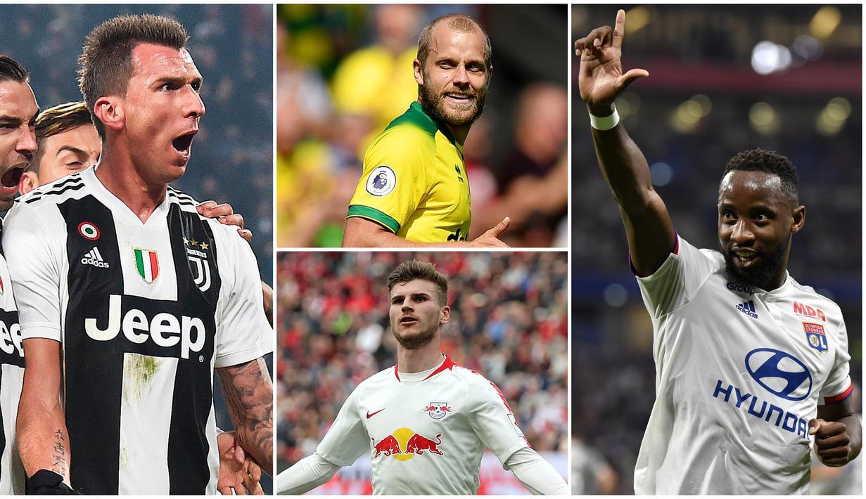 FOTO 7 Pemain Yang Bisa Jadi Solusi Bagi Manchester United