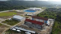 Kementerian PUPR membangun 15 rumah susun (rusun) dipersiapkan untuk sarana akomodasi pelaksanaanPekan Olahraga Nasional (PON) XX Tahun 2021 di Papua (dok: PUPR)