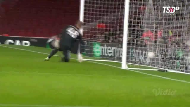 Berita video highlights leg II babak 32 Besar Liga Europa 2018-2019 antara Arsenal melawan BATE yang berakhir dengan skor 3-0, Kamis (21/2/2019).