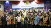 Pertemuan Nasional Proyek UPLAND 2020-2024 di Hotel Grand Inna, Kuta, Bali, Kamis (5/12).