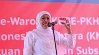 Mensos Khofifah Indar Parawansa (Fajar Abrori/liputan6.com)