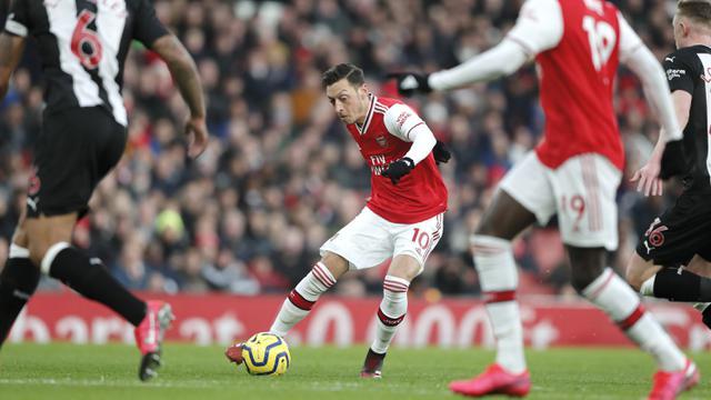 Arsenal Lumat Newcastle United 4-0