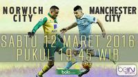 Norwich City vs Manchester City (Bola.com/Samsul Hadi)