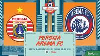 Shopee Liga 1 - Persija Jakarta Vs Arema FC (Bola.com/Adreanus Titus)