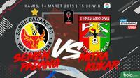 Piala Presiden: Semen Padang vs Mitra Kukar. (Bola.com/Dody Iryawan)