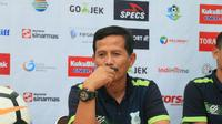 Pelatih PSMS Medan Djadjang Nurjaman (Reza Perdana)