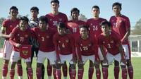 Timnas Indonesia U-19 meraih kemenangan telak 4-0 atas Hajduk Split pada laga uji coba, Selasa (20/10/2020).