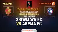 Prediksi Sriwijaya FC vs Arema FC (Liputan6.com/Trie yas)
