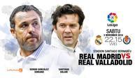 Real Madrid vs Real Valladolid (Liputan6.com/Abdillah)