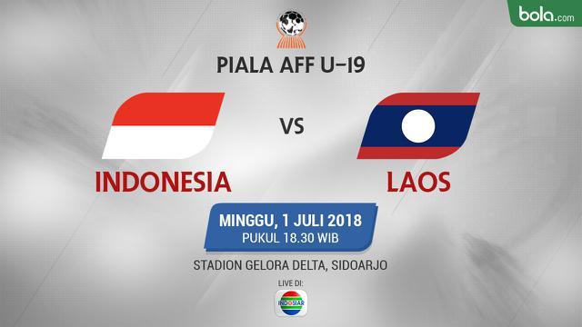 Live Streaming Piala Aff U  Timnas Indonesia Vs Laos Indonesia Bola Com
