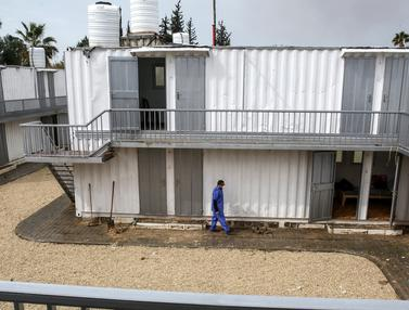 Ada Zona Karantina Virus Corona di Jalur Gaza