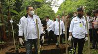 Ketua MPR Bambang Soesatyo dan Menteri Pertanian Syahrul Yasin Limpo. Dok Kementan