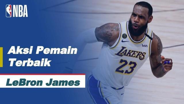 Berita video kumpulan aksi terbaik dari LeBron James saat LA Lakers mengalahkan Miami Heat 106-93 pada gim 6 Final NBA 2020, Senin (12/10/2020) pagi hari WIB.