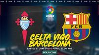 La Liga: Celta Vigo vs Barcelona. (Bola.com/Dody Iryawan)