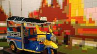 Berikut keseruan mengisi liburan dengan bermain Lego di Bricklive Jakarta. (Foto: Liputan6.com/ meita fajriana)