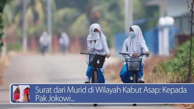 Daily TopNews hari ini akan menyajikan berita seputar surat dari murid di wilayah kabut asap untuk Jokowi, dan khasiat minyak zaitun untuk mengurangi risiko kanker payudara. Seperti apa berita lengkapnya? Simak dalam video berikut.