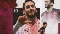 AC Milan - Hakan Calhanoglu (Bola.com/Adreanus Titus)