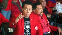Ketum PKPI Diaz Hendropriyono saat peluncuran Departemen eSports PKPI di SCBD, Jakarta, Selasa (25/9). Peluncuran departemen bersamaan dengan Indonesian Esports Games 2018 yang akan digelar pada bulan November-Desember 2018. (Liputan6.com/HO/Engga)