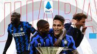 Juara Liga Italia 2020/2021: Inter Milan. (Bola.com/Dody Iryawan)
