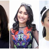 Nagita Slavina, Ayu Ting Ting, dan Gracia Indri (Bintang Pictures)