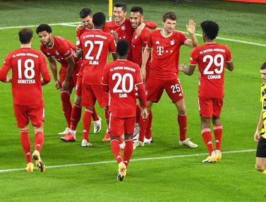 Bayern Munchen Bungkam Borussia Dortmund di Signal Iduna Park