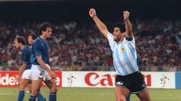 1. Diego Maradona - Argentina (AFP/Daniel Garcia)