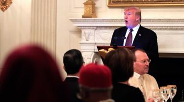 Donald Trump Gelar Buka Puasa Bersama