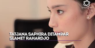 Pengalaman Tatjana Saphira saat ditampar Slamet Rahardjo.